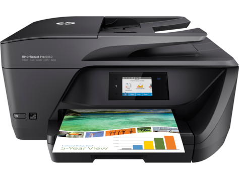 HP OfficeJet Pro 6960 All-in-One-printerserien