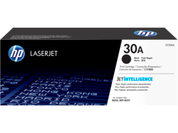 HP 30A Black Original LaserJet Toner Cartridge, CF230A
