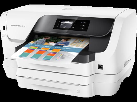HP OfficeJet Pro 8216 Printer - Left