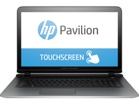 PC Notebook HP Pavilion serie 17-g000 (táctil)