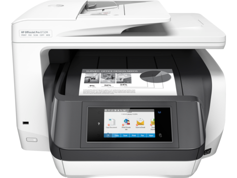 Gamme d'imprimantes monochrome HP OfficeJet Pro 8730