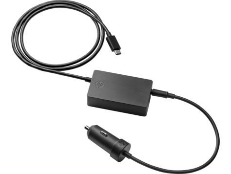 HP 45 W USB-C auto-adapter