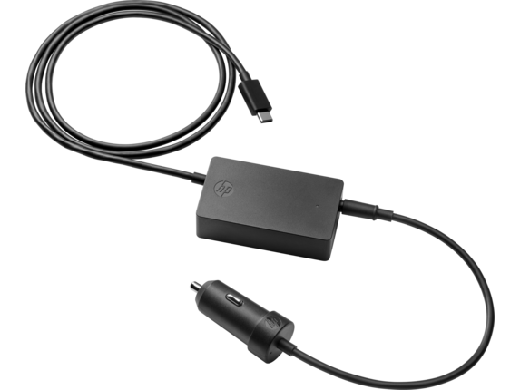 HP 45W USB C Auto Adapter