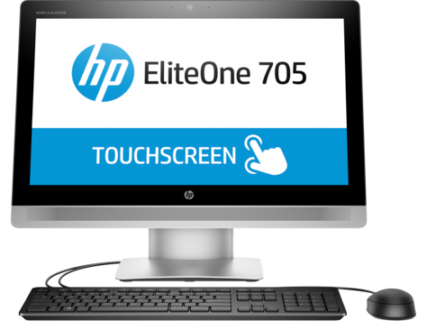 PC HP EliteOne 705 G2 de 23 pulgadas, táctil, All-in-One