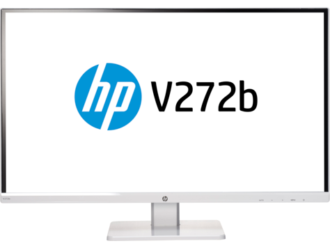 HP V272b 27-inch Monitor