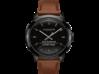 Coach Bleecker Smart Watch - Saddle Strap - Left rear