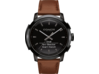 Coach Bleecker Smart Watch - Saddle Strap - Left profile closed