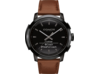 Coach Bleecker Smart Watch - Saddle Strap - Top view closed