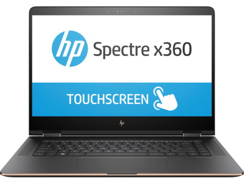 PC convertible HP Spectre 15-bl000 x360