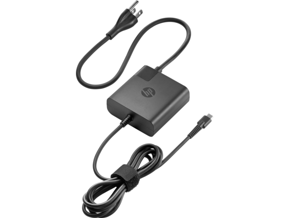 HP 65W USB C Power Adapter