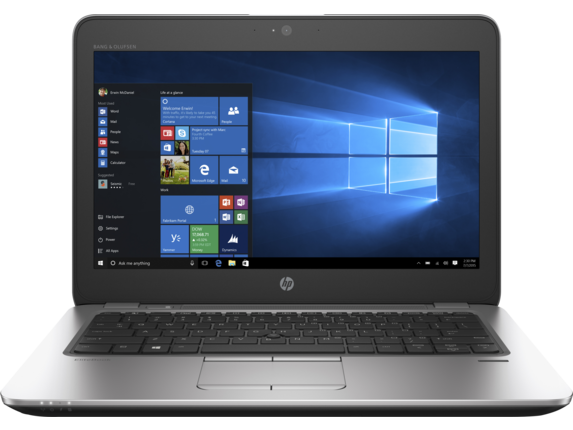 HP EliteBook 725 G4 Notebook PC - Center