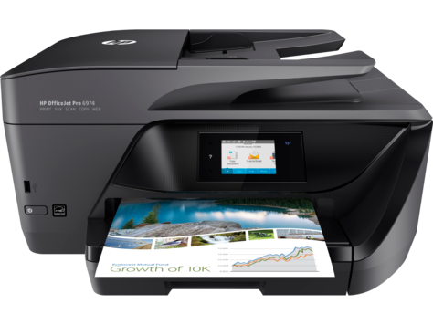 HP OfficeJet Pro 6974 All-in-One Printer