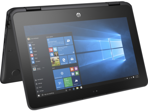 HP ProBook x360 11 G1 EE Convertible PC - Customizable - Center