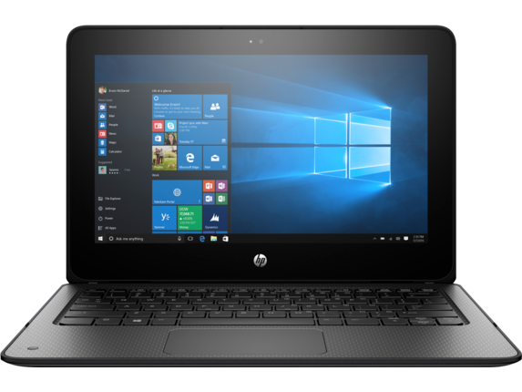 HP ProBook x360 11 G1 EE Notebook PC - Center