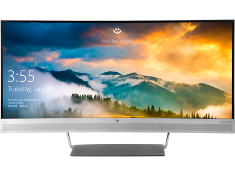 Изогнутый монитор HP EliteDisplay S340c 34