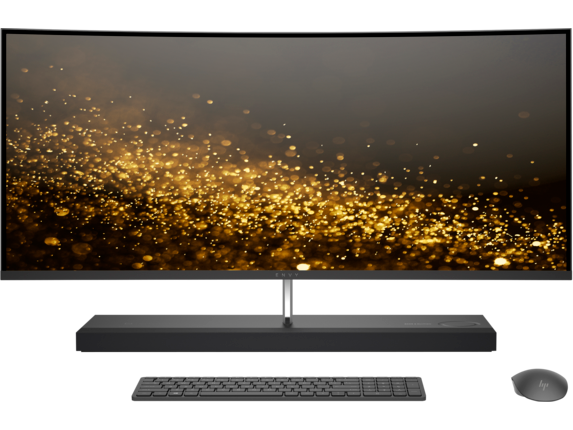 HP ENVY Curved All-in-One - 34-b015t - Center
