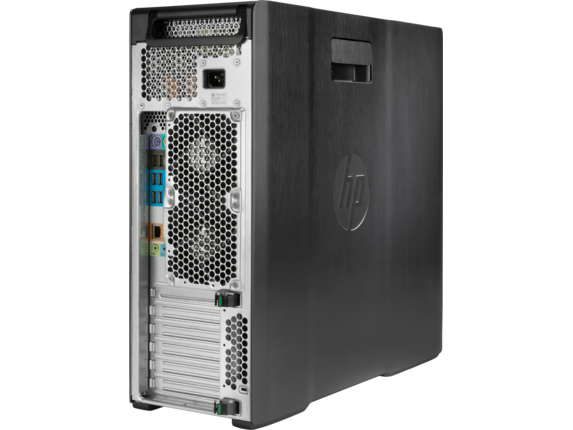 HP Z640 Workstation - Rear