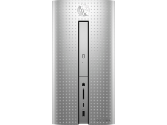 HP Pavilion Desktop - 570-p015z - Center