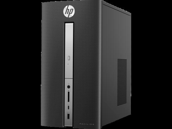 HP Pavilion Desktop - 570-p055qe - Left