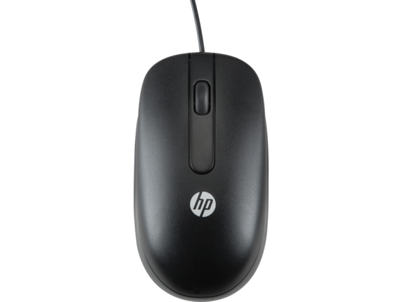 HP USB Optical Scroll Mouse - Center