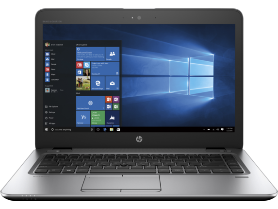 HP EliteBook 840 G4 Notebook PC (ENERGY STAR) - Center
