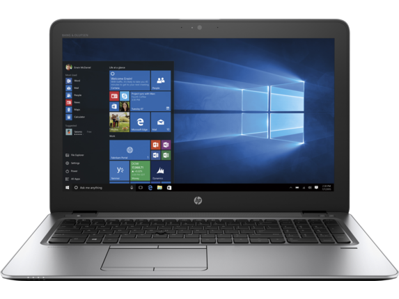 HP EliteBook 850 G4 Notebook PC - Customizable - Center