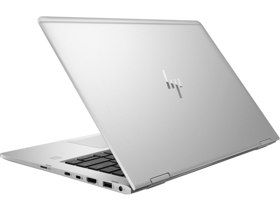 HP EliteBook x360 1030 G2 with HP Sure View - Left rear
