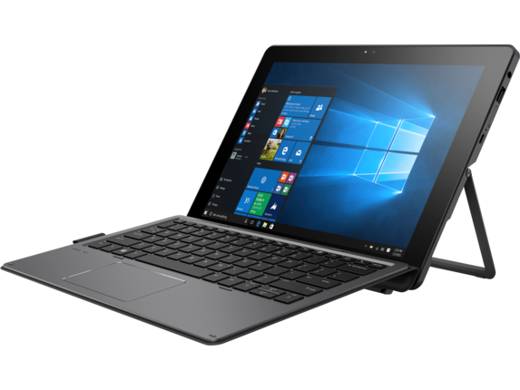 HP Pro x2 612 G2 with Keyboard - Left