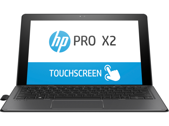 HP Pro x2 612 G2 with Keyboard - Center