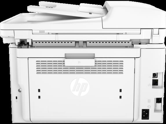 HP LaserJet Pro MFP M227fdn - Rear