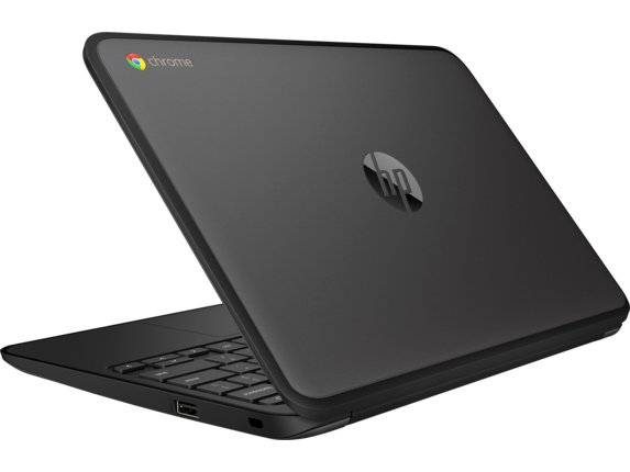 HP Chromebook 11 G5 EE Notebook PC - Customizable - Left rear