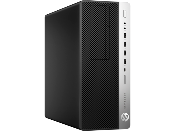 HP EliteDesk 800 G3 Tower PC - Right