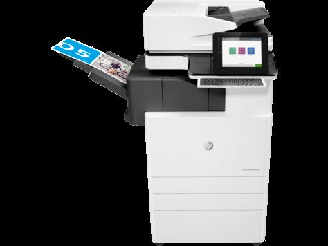 HP Color LaserJet Managed Flow MFP E87650z Plus – Paketprodukt 50 Seiten/Minute