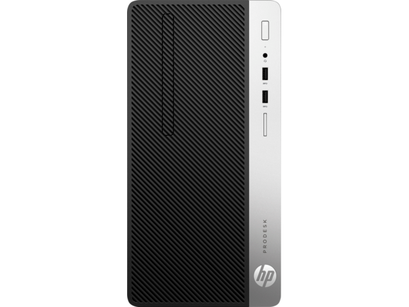 HP ProDesk 400 G4 Microtower PC - Center