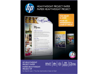 HP 40-lb Heavyweight Project Paper/250 sht/Letter/8.5 x 11 in - Img_Center_320_240
