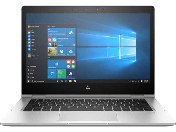 HP EliteBook x360 1030 G2 with HP Sure View - Center