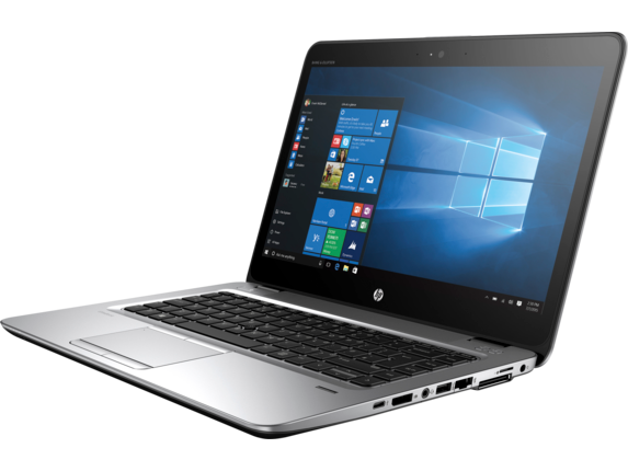 HP EliteBook 745 G4 Notebook PC (ENERGY STAR) - Left
