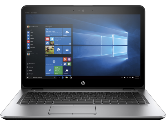HP EliteBook 745 G4 Notebook PC - Customizable - Center