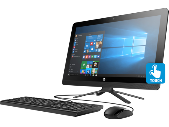HP All-in-One - 22-b235qe - Left