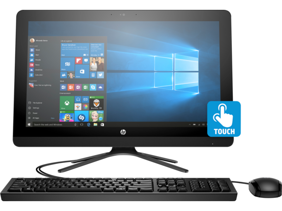 HP All-in-One - 22-b235qe - Center