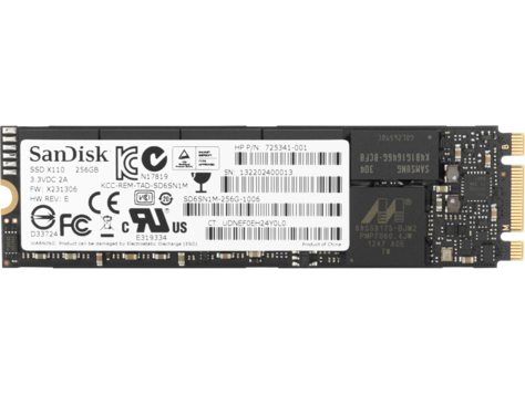 כונן Solid State מסוג HP 256 GB TLC PCIe 3x4 NVMe M.2