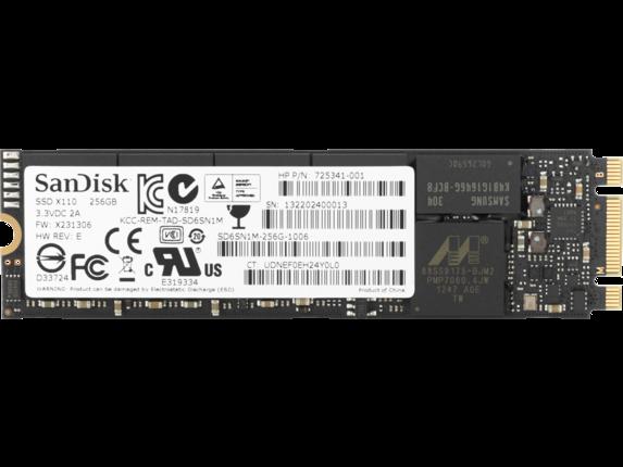 HP 256 GB TLC PCI-e 3x4 NVMe M.2 SSD 1D0H6UT#ABA