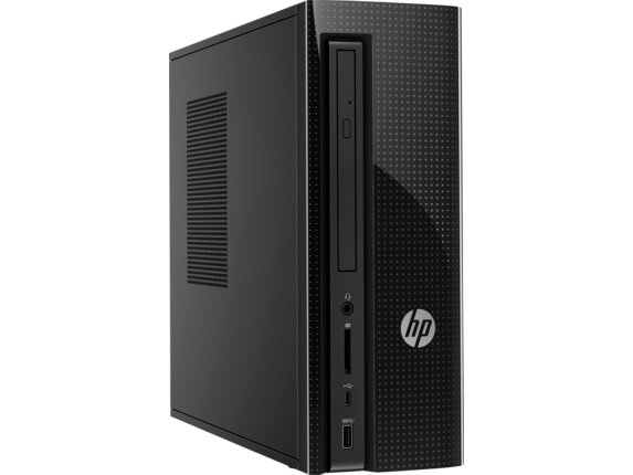 HP Slimline Desktop - 270-a035z - Right