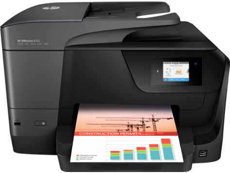 HP OfficeJet 8702 All-in-One Printer series