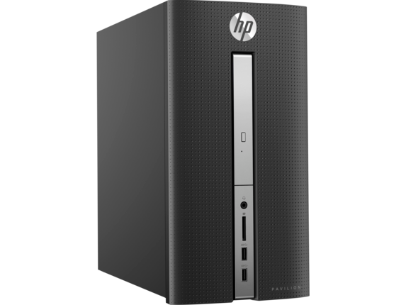 HP Pavilion Desktop - 570-a135m - Right