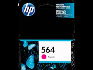 HP 564 Magenta Original Ink Cartridge, CB319WN#140