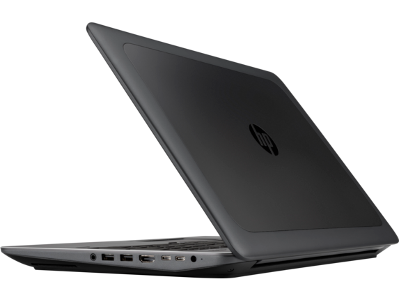 HP ZBook 15 G4 Mobile Workstation (ENERGY STAR) - Left rear