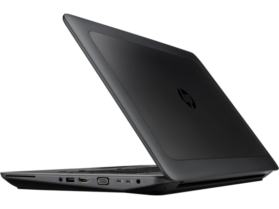 HP ZBook 17 G4 Mobile Workstation (ENERGY STAR) - Left rear