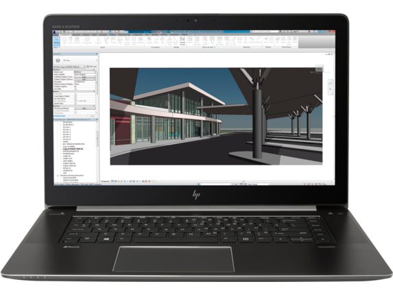 HP ZBook Studio G4 Mobile Workstation (ENERGY STAR) - Center