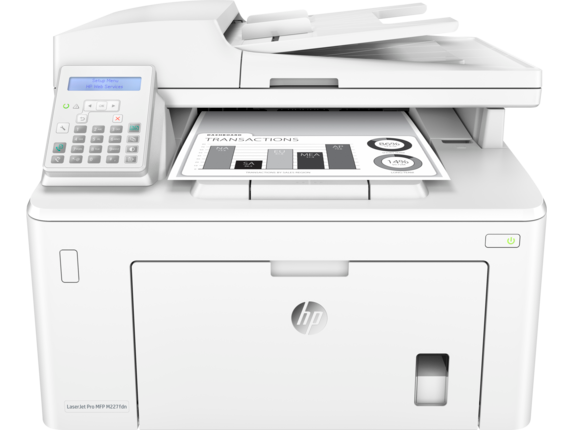HP LaserJet Pro MFP M227fdn - Center